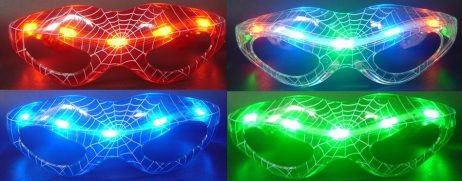 lunettes lumineuses spider