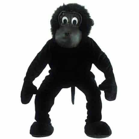mascotte de chimpanze