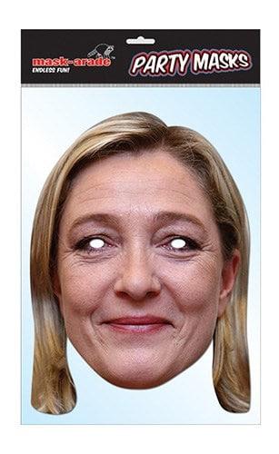 masque carton souple marine lepen politique