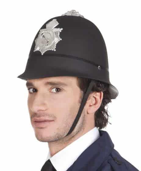 Casque du policier anglais