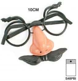 faux nez lunettes moustache