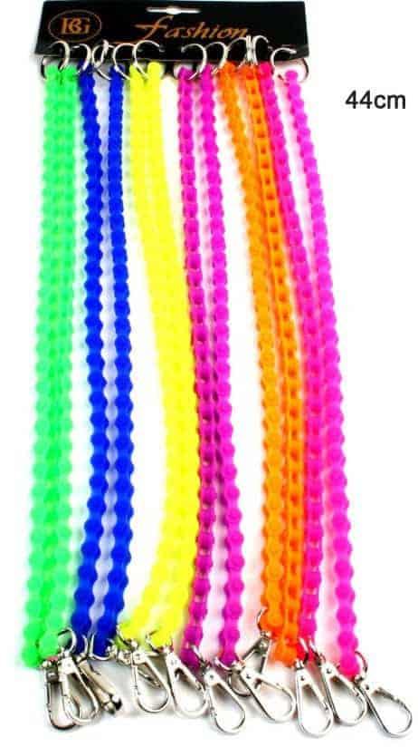PORTE CLÉ MOUSQUETON (Silicone - 6 coloris)