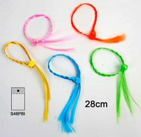 Meches de cheveux avec clips pour enfant