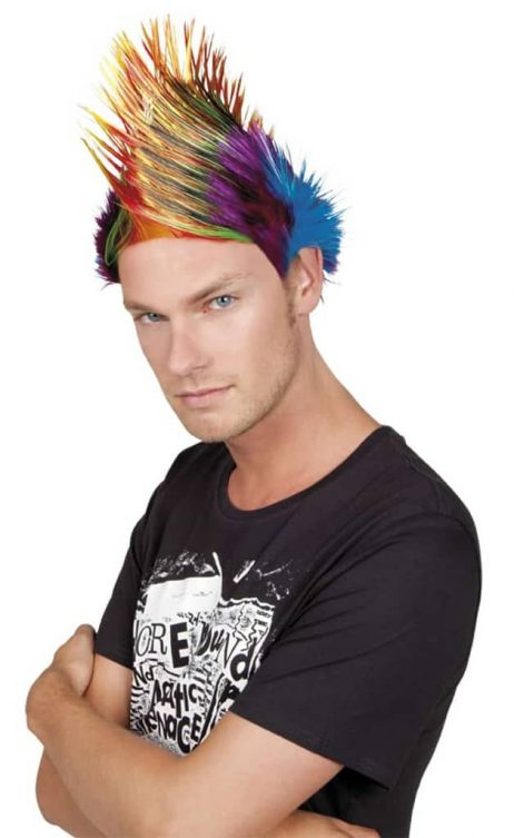 perruque du punk