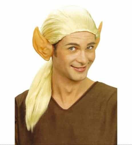 oreilles d'elfe en latex