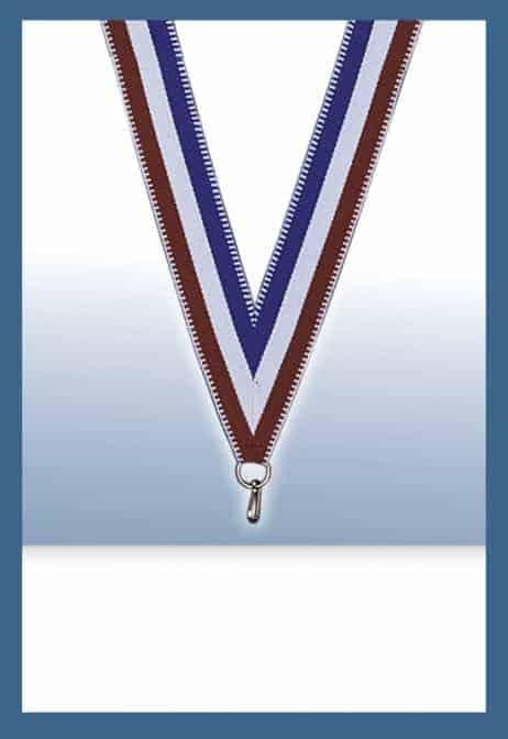 Cordons pour médailles (Bleu blanc rouge BBR)