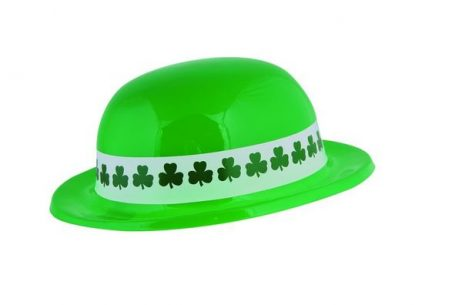 Chapeau St Patrick en plastique