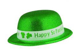 Chapeau melon St Patrick à paillettes