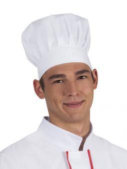Toque blanche du chef de cuisine