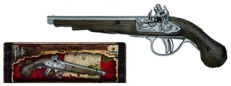 PISTOLET PIRATE GONHER (Pistolet Métal & plastique) Longueur 26 cm