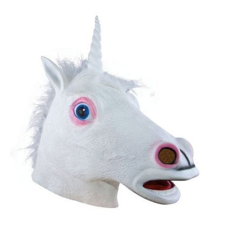 MASQUE DE LICORNE (Masque en latex)