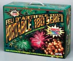 Feu d'artifice automatique et portable