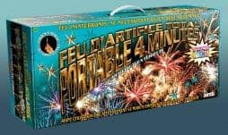 Spectacle pyrotechnique automatique 4 minutes
