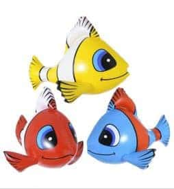 Poissons 60 cm gonflables