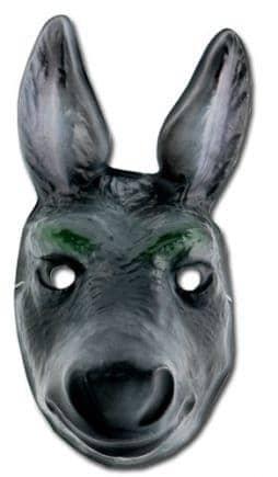 Masque d'ane en plastique