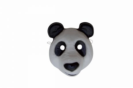 Masque de Panda en plastique