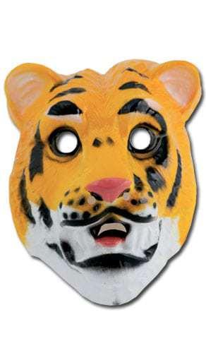 MASQUE DE TIGRE (Masque en plastique)