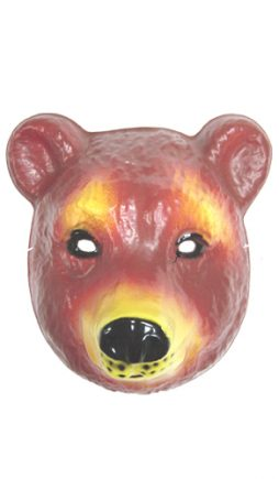 Masque d'ours brun