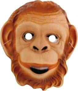 Masque d'orang outan singe