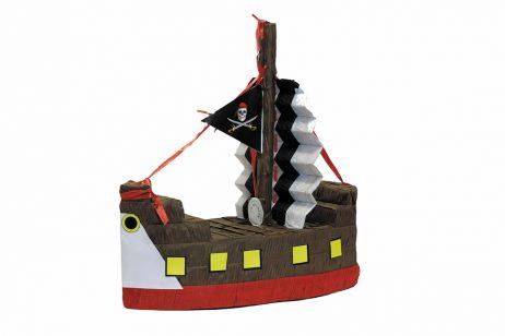 Pinata en forme de bateau pirate