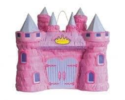 Pinata chateau rose de princesse