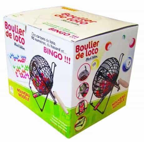 BOULIER DE LOTO BINGO (Boulier métallique)