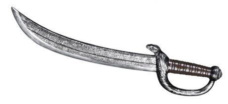 ÉPÉE DE PIRATE PLASTIQUE (Longueur 53 cm)