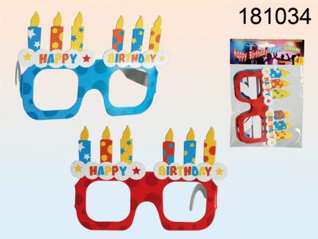 Lunettes d'anniversaire en carton