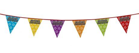 GUIRLANDE ANNIVERSAIRE (Guirlande fanions - 8 m) Joyeux anniversaire