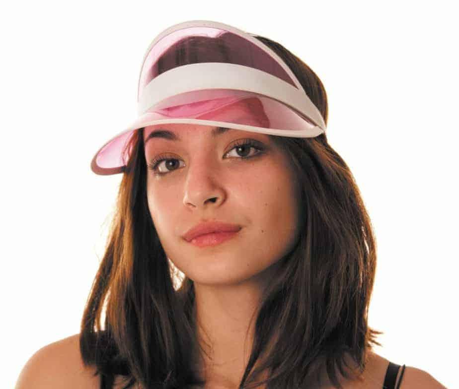 mode Acheter Authentic prix bas CASQUETTE ANNÉES 80 (Couleur rose + visière)