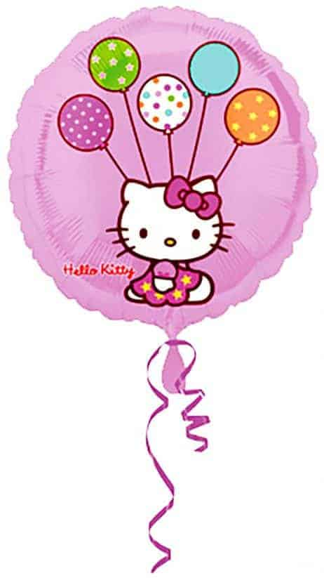 Ballon helium hello kitty
