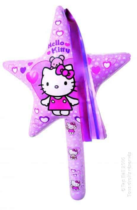 Baguette gonflable hello kitty