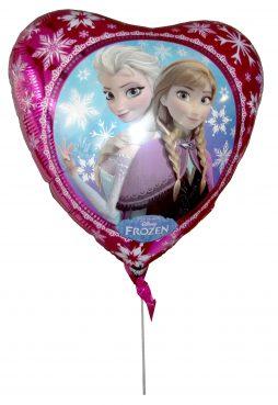 Ballon helium frozen coeur