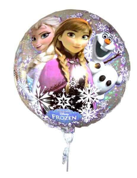 Ballon aluminium frozen