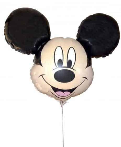 Ballon mickey aluminium