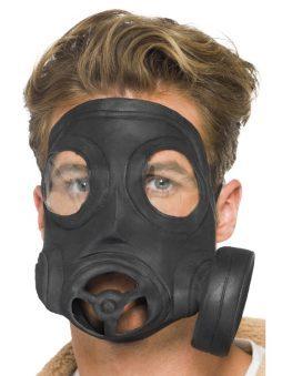 Masque à gaz militaire