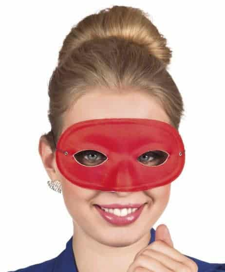 Loup masque rouge
