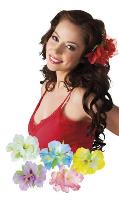 CLIPS POUR LES CHEVEUX (Clips fleurs - 6 coloris)