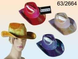 Chapeau cowboy laser