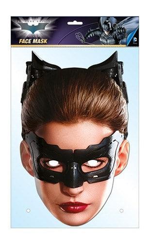 MASQUE - SAGA BATMAN (Masque de Catwoman) Masque en carton souple