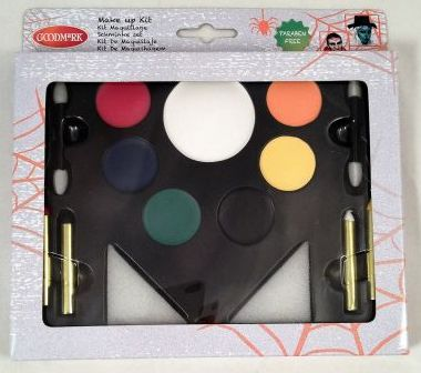Coffret maquillage halloween