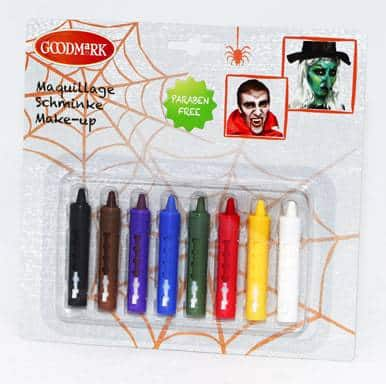 Batons maquillage Halloween