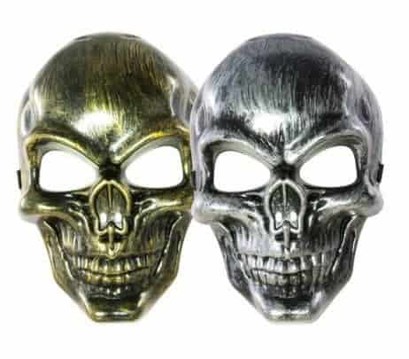 12 masques squelettes