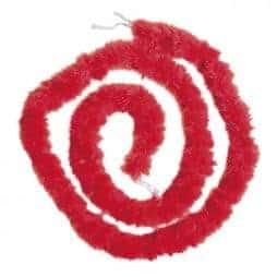 Marabout rouge 180 cm