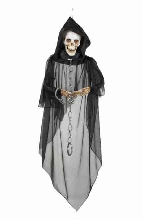 Squelette suspendu