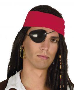 Boucles d'oreilles + cache oeil pirate