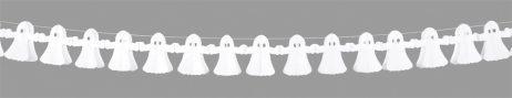 Guirlande papier fantome