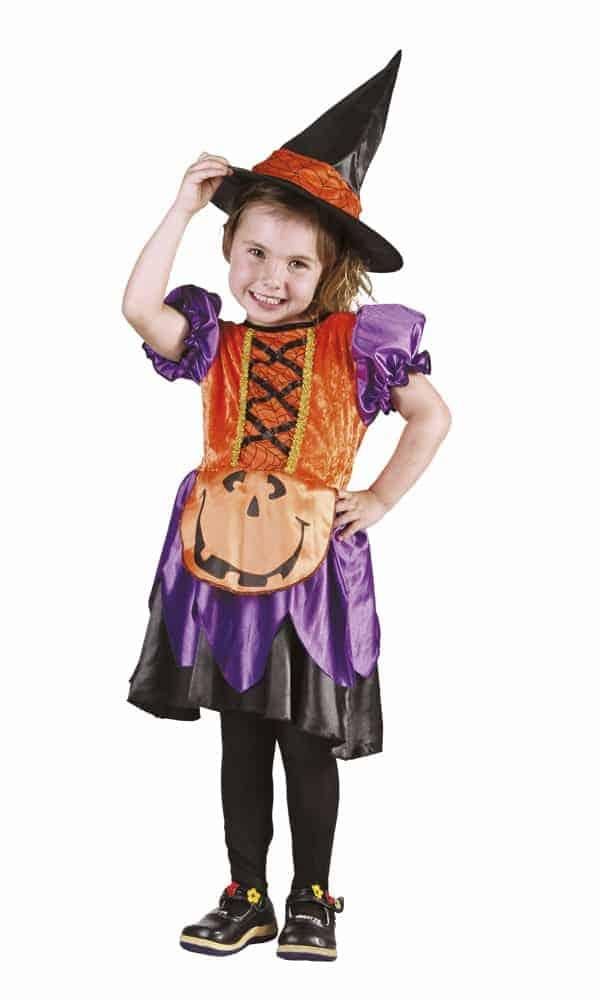 D guisement de sorci re mod le citrouille 3 4 ans d guisement pour enfant ced - Deguisement de citrouille ...