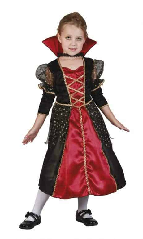 Costume vampire fille 3-4 ans