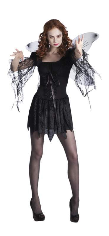 costume ange noir